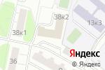 Схема проезда до компании Центр организации дорожного движения в Москве