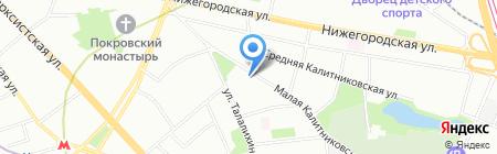 Sunny Holidays на карте Москвы