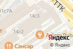 Схема проезда до компании Новая Перевозочная Компания в Москве