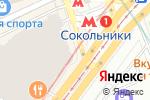 Схема проезда до компании MANIFESTO в Москве