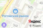 Схема проезда до компании Маленькая пекарня Журавлевых в Москве