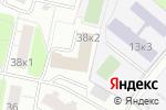 Схема проезда до компании Почтовое отделение №129281 в Москве