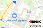 Схема проезда до компании Matrix в Москве