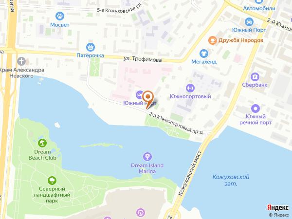 Остановка «2-й Южнопортовый пр.», 2-й Южнопортовый проезд (4637) (Москва)