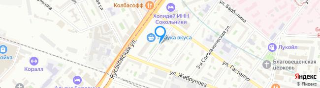 улица Сокольническая 1-я