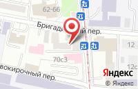 Схема проезда до компании Центр Бронирования в Москве
