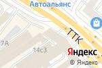 Схема проезда до компании Экспертный центр в Москве