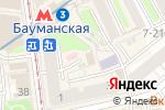 Схема проезда до компании Пекарня на ул. Фридриха Энгельса в Москве