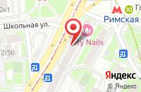 Схема проезда до компании КонтактСистем в Москве