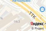 Схема проезда до компании Дио-Тревэл в Москве