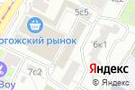 Схема проезда до компании Pizza Storia в Москве