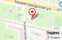 Схема проезда до компании Корвет в Москве