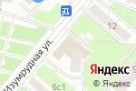 Схема проезда до компании ЗОВ МЕБЕЛЬ в Москве