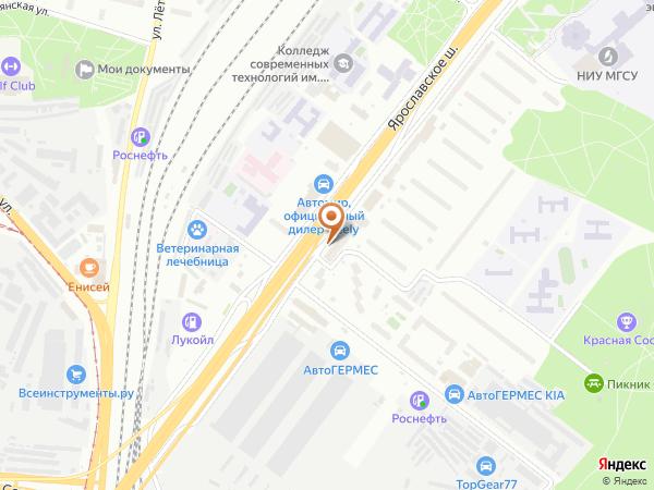 Остановка Полиграфический колледж в Москве