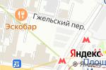 Схема проезда до компании Clockshop.ru в Москве