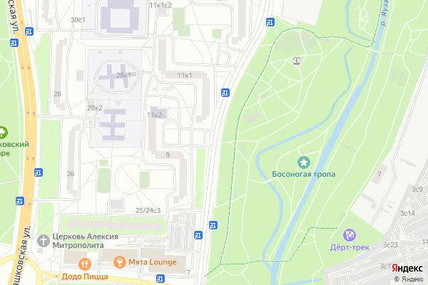 Ремонт телевизоров Улица Северодвинская на яндекс карте