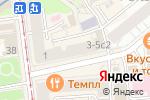 Схема проезда до компании Burger Story в Москве