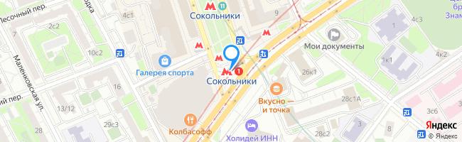 метро Сокольники