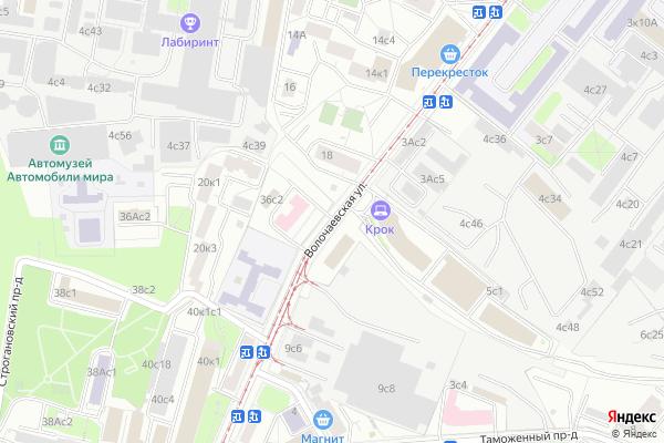 Ремонт телевизоров Улица Волочаевская на яндекс карте