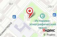 Схема проезда до компании Техстрой в Москве
