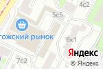 Схема проезда до компании Рогожские Торговые Ряды в Москве