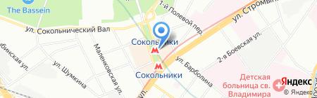 Мир сумок на карте Москвы