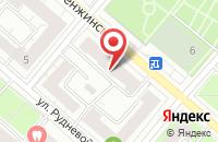 Схема проезда до компании ИНТЭК-маркет в Астрахани