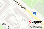 Схема проезда до компании НКР ТРУД-СЕРВИС в Москве