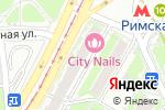 Схема проезда до компании Грация Стиль в Москве