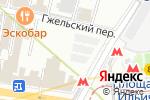 Схема проезда до компании Люксторг в Москве