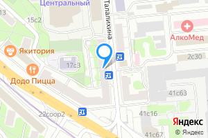 Комната в Москве Волгоградский пр-т, 17с1