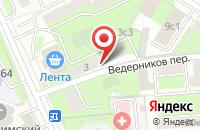 Схема проезда до компании Оса Пневматика в Москве