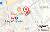 Схема проезда до компании Технология Мастерства в Москве