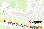 Схема проезда до компании Эмми-дент в Москве