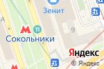 Схема проезда до компании Emerland в Москве