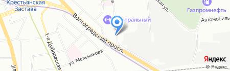 Банкомат АКБ Легион на карте Москвы