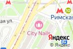 Схема проезда до компании Плюс банк, ПАО в Москве