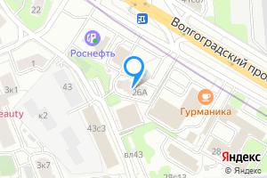 Трехкомнатная квартира в Москве м. Волгоградский проспект, Волгоградский проспект, 26А