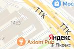 Схема проезда до компании ПТГ в Москве