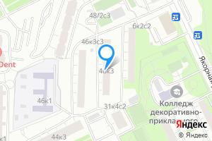 Комната в Москве Нагатинская наб., 46к3