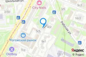 Снять однокомнатную квартиру в Москве Рабочая ул., 4А