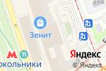 Схема проезда до компании Велосалон в Москве