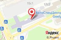 Схема проезда до компании Химик в Москве