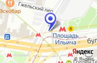 Схема проезда до компании МЕБЕЛЬНЫЙ САЛОН МАГАЗИН ФАБРИЧНЫХ ЦЕН в Москве
