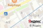 Схема проезда до компании Центр изготовления печатей и фото в Москве