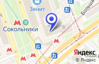 Схема проезда до компании ИНТЕРЬЕР СИНТЕЗ в Москве