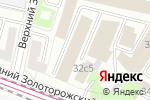Схема проезда до компании ЭСТО-лайт Рус в Москве