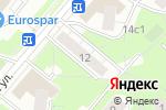 Схема проезда до компании Секонд-хенд на Изумрудной в Москве