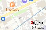 Схема проезда до компании Модный подвальчик в Москве