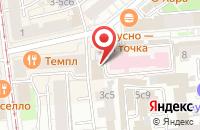 Схема проезда до компании Арт Драйв в Москве